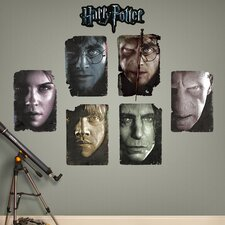 Harry Potter Paper Portrait Peel and Stick Wall Decal