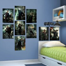 Harry Potter Deathly Hallows Movie Posters Peel and Stick Wall Decal