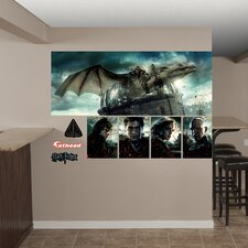 Harry Potter Deathly Hallows Dragon Peel and Stick Wall Mural