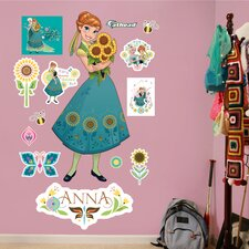 Disney Anna Frozen Fever Peel and Stick Wall Decal