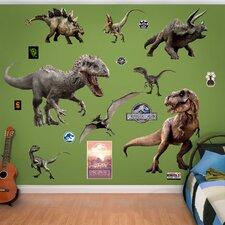 NBC Universal Jurassic World Dinosaurs Peel and Stick Wall Decal