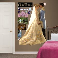 Disney Cinderella and Prince Charming Peel and Stick Wall Decal