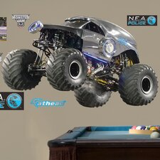 Feld New Earth Authority - Monster Truck Wall Decal