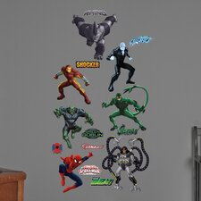 Marvel Ultimate Spider-Man Villains Big Wall Decal