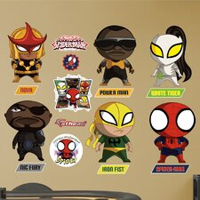 Marvel Ultimate Spider-Man Mini Team Big Wall Decal