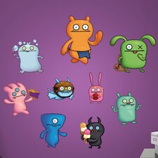 Ugly Doll Characters Peel and Stick Wall Decal