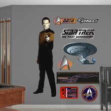 Star Trek Lieutenant Commander Data Wall Decal