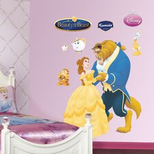 Disney Beauty and The Beast Wall Decal