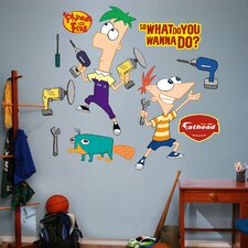 Disney Phineas and Ferb Wall Decal