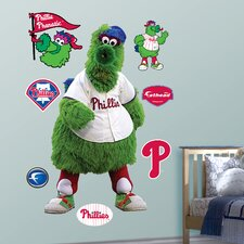 MLB Philadelphia Phillies Phanatic Mascot Wall Decal