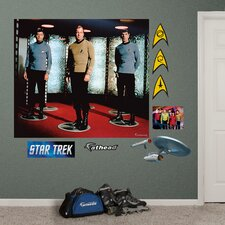 Star Trek The Original Series Crew Wall Decal