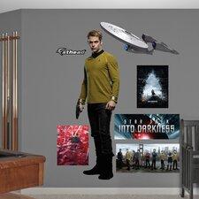 Star Trek Into Darkness James T. Kirk Wall Decal