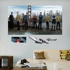 Star Trek Into Darkness Crew Wall Mural
