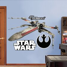 Star Wars X Wing Fighter Wall Decal