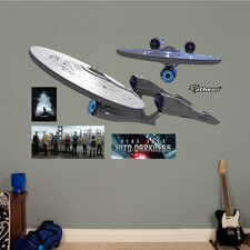 Star Trek Into Darkness Enterprise Wall Decal