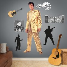 Elvis Presley Gold Lame Suit Wall Decal