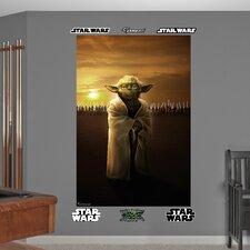 Star Wars Yoda Jedi Knights Wall Mural