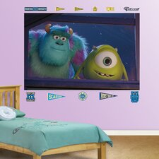Disney Monsters University Window Wall Mural