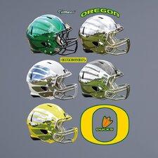 NCAA Oregon Ducks Helmet Wall Decal