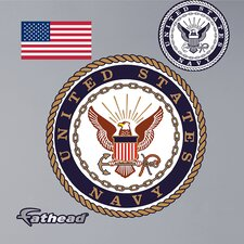 Military United States Navy Insignia Wall Decal