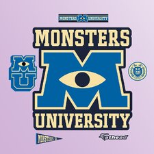 Disney Monsters University Logo Wall Decal