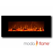 Houston Wall Mounted Electric Fuel Fireplace