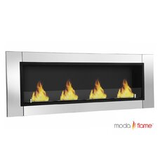 Wraith Ventless Bio Ethanol Wall Mounted Fireplace