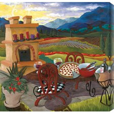 Italian Kitchen by Susan Webster Painting Print Canvas