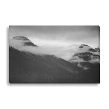 'In Glacier National Park II' by Ansel Adams Photographic Print on Wrapped Canvas