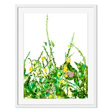 Backyard Oasis II by Carole Pena Framed Painting Print