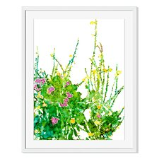 Backyard Oasis III by Carole Pena Framed Painting Print