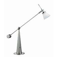 Admiral Halogen 13.5'' H Table Lamp with Empire Shade