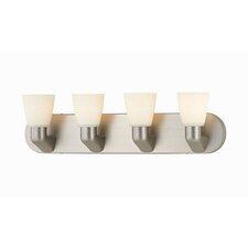 Contemporary 4 Light Vanity Light