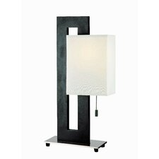 """Benito 20"""" H Table Lamp with Rectangular Shade"""