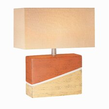 Hestia  Mid-Size Table Lamp in Ceramic Two Tone
