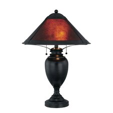 """Mischa 26"""" H Table Lamp with Empire Shade"""