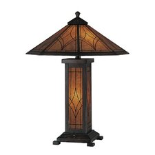 """Odessa 25"""" H Table Lamp with Empire Shade"""
