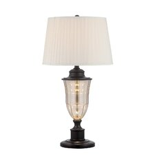 """Forbes 29.5"""" Table Lamp with Empire Shade"""