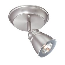 Immaculata One Light Wall/Ceiling Lamp in Polished Steel