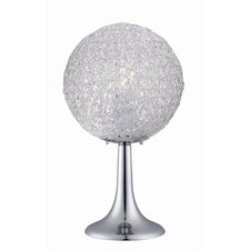 """Icy 20"""" H Table Lamp with Sphere Shade"""