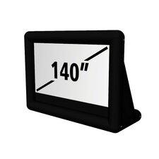 """Matte White 140"""" diagonal Portable Projection Screen"""