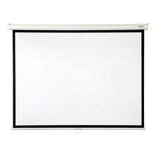 "Matte White 84"" diagonal Manual Projector Screen"