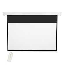 "Matte White 92"" diagonal Electric Projector Screen"