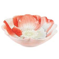 Hydrangea Flower Centerpiece Serving Bowl