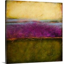 Paisley Haze II by Erin Ashley Gallery Painting Print on Wrapped Canvas