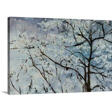 Clear Blue Sky by Jodi Maas Painting on Wrapped Canvas