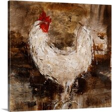 Backyard Guest II by Jodi Maas Painting on Wrapped Canvas