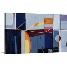 Little Fish Big Pond by Sydney Edmunds Painting on Wrapped Canvas