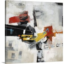 Rock Paper Scissors III by Sydney Edmunds Painting on Wrapped Canvas