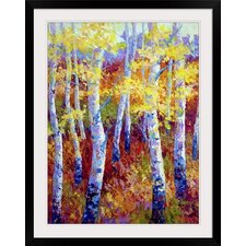 Autumn Gold by Marion Rose Framed Painting Print